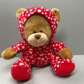 Hearts Onesie Bear